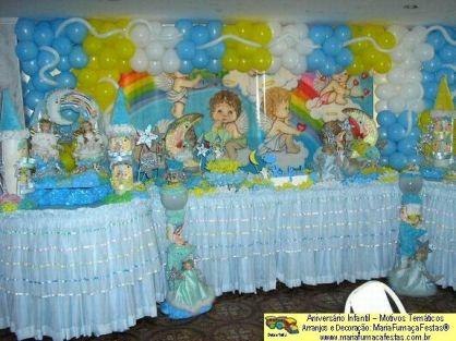 Anjinhos Decoração De Festa De Aniversário Infantil Para Meninos